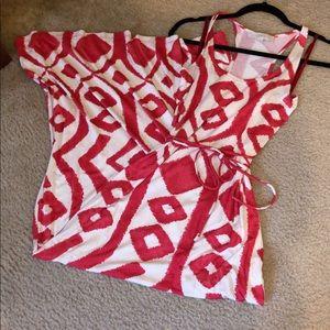 Loft XS maxi dress